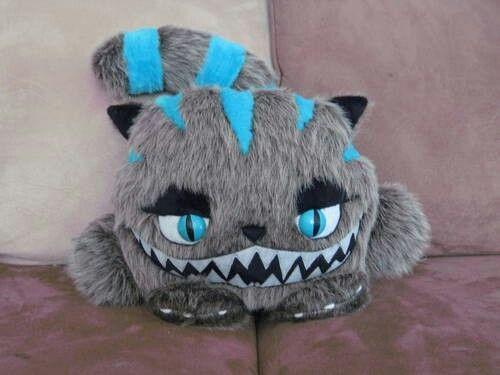 Plush Cheshire cat