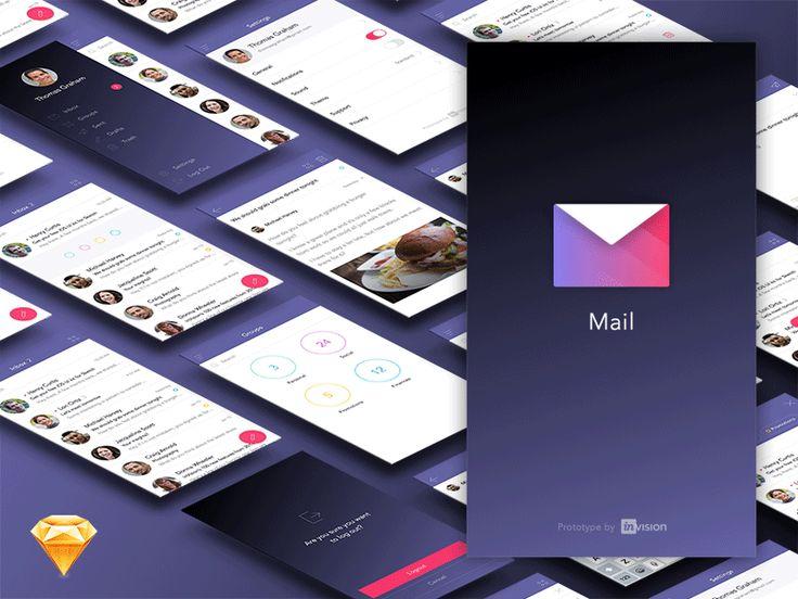 Mail App Ui Kit