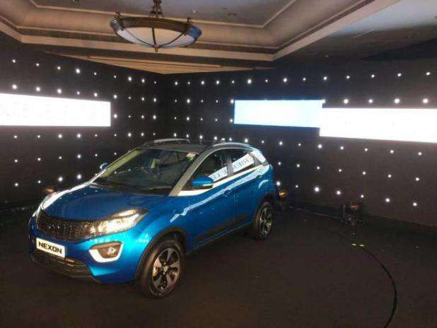 """Tata Motors launches compact SUV Nexon at Rs 5.87 lakh http://ift.tt/2xjYz60  Source: YouTube  Homegrown auto maker Tata Motors today launched its first compact SUV Nexon with a price tag starting from Rs 5.87 lakh for petrol and Rs 6.87 lakh for the diesel variant. """"The Nexon is the result of our intent to breakaway from the conventional approach of segmentation"""" Tata Motors chief executive and managing director Guenter Butschek said while launching the much-awated SUV. With this rollout…"""
