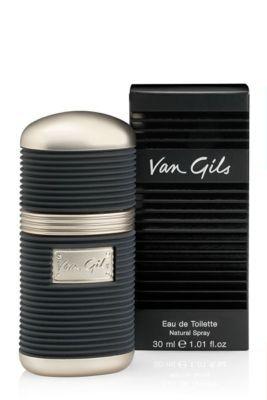 Van Gils Classic is een citrusachtig herenparfum, met sporen van houtsoorten, muskus en amber