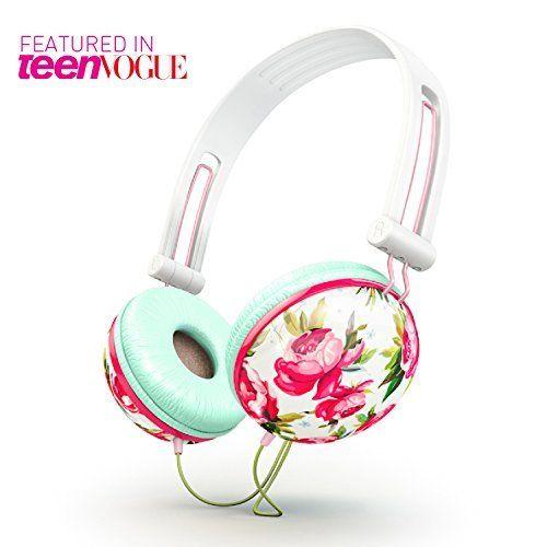 Ankit Fat Bass - Pastel White Floral Noise Isolating Headphones, http://www.amazon.com/dp/B00GMQKQFK/ref=cm_sw_r_pi_awdm_ipOZwb09GQQJ1
