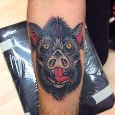 boar asian tattoo - Google Search