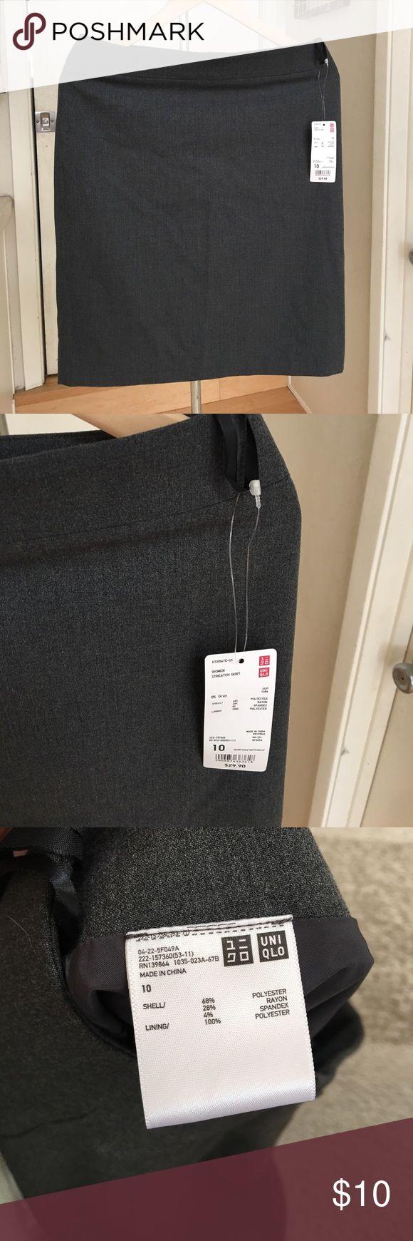"NWT Uniqlo Stretch Skirt NWT. 21 "" length. 16"" waist. Uniqlo Skirts Pencil"