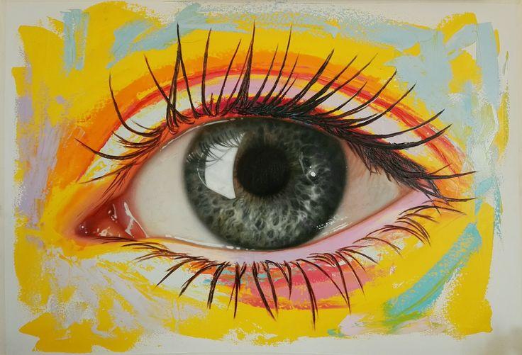 Oleo sobre lienzo 100x 70 cm by Patricia Vesga PAVES