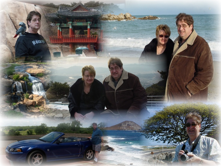Family Trip Collage