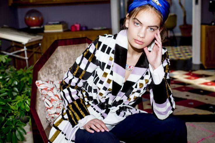 Holly Golightly Copenhagen - SS16 Campaign / Photo: Trine Hisdal / Styling: Julie Svendal / Instructors: Tone Reumert & Julie Svendal / Make-up: Pernille Holm / Model: Nina Marker - Elite Models / FREYA DALSJØ / CHLOÉ / OLYMPIA LE-TAN / SHOROUK / SOPHIE BILLE BRAHE