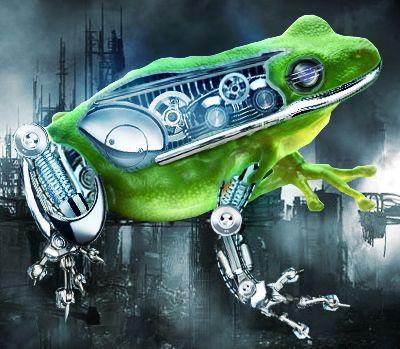 Androfrog by AnggaEkaArt on DeviantArt