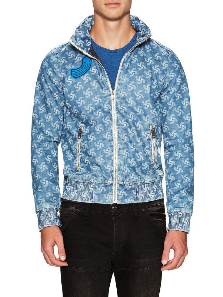 G-Star Denim Bomber Jacket