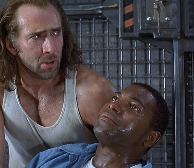 An analysis of the heroism in the movie con air by nicholas cage