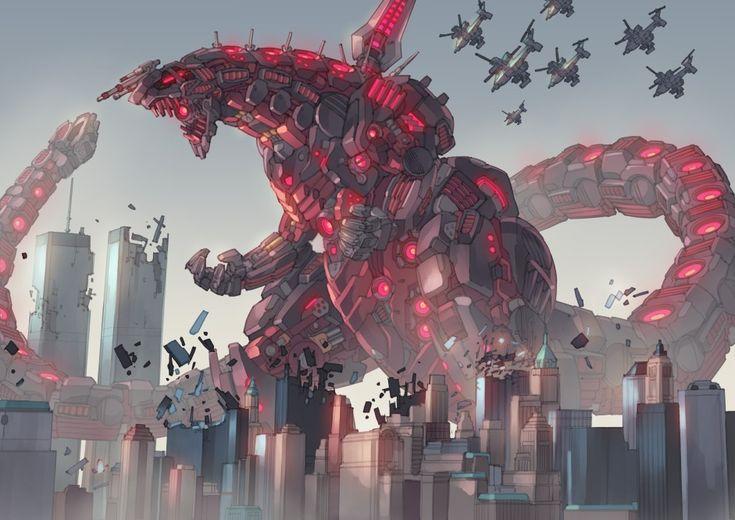 Mecha Shin Godzilla In 2019 Godzilla Mecha Anime