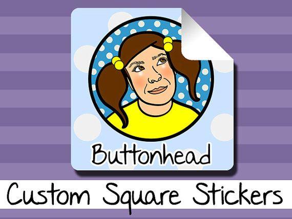 50 Custom Stickers 3 Sizes #custom #stickers