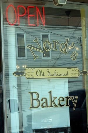 "Nord's Bakery | ""...put bacon on doughnuts WAY before everybody put bacon on everything."" - Fodor's"