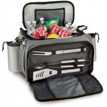 Picnic Time Vulcan All-In-One Propane Grill/Cooler With BBQ Tool Set