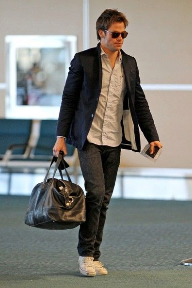 Image result for chris pine Vancouver International Airport