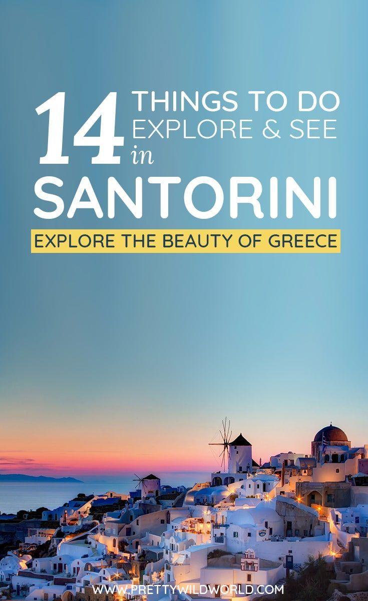 #SANTORINI #GREECE #