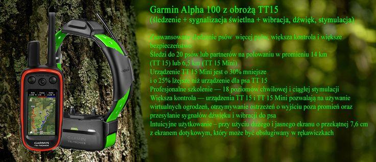 Alpha 100 z obrożą TT15 oraz TT15 mini www.pologar.pl