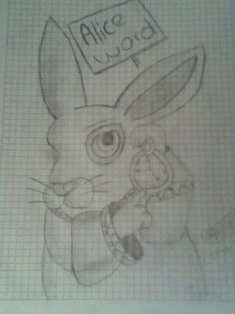 Alicia: conejo cuanto dura un para siempre Conejo: a veces solo un segundo
