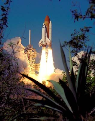 where is endeavour space shuttle right now - photo #45