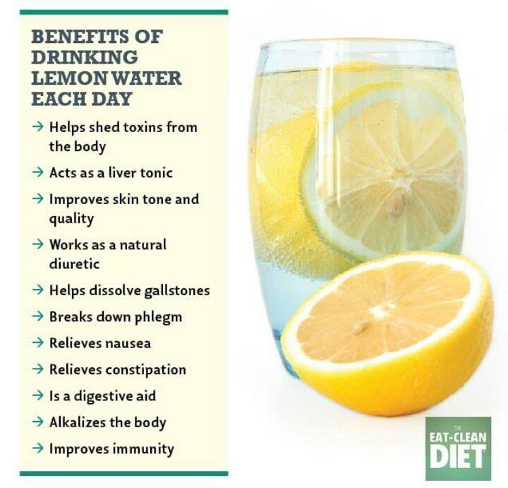 Benefits of drinking lemon water | *Healthy Life* | Pinterest