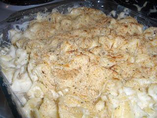 Ranch Chicken Crock Pot   (chicken breasts, water, packet dry ranch dressing mix, cream cheese, 2 cans cream of chicken soup, Mozzarella Cheese, Breadcrumbs)