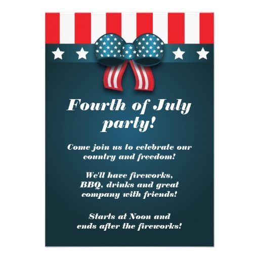 july 4th invitations templates