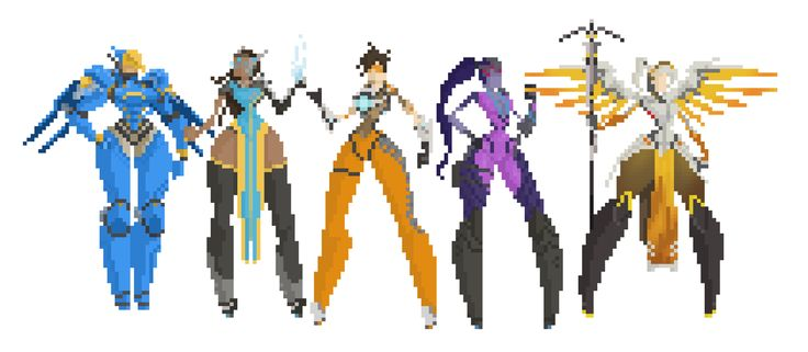 overwatch female characters - Google Search