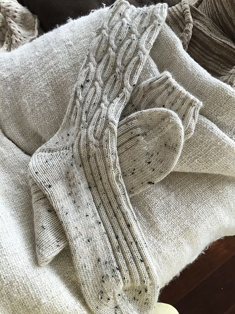 Par 5 Socks pattern by Ingrid Hiddessen