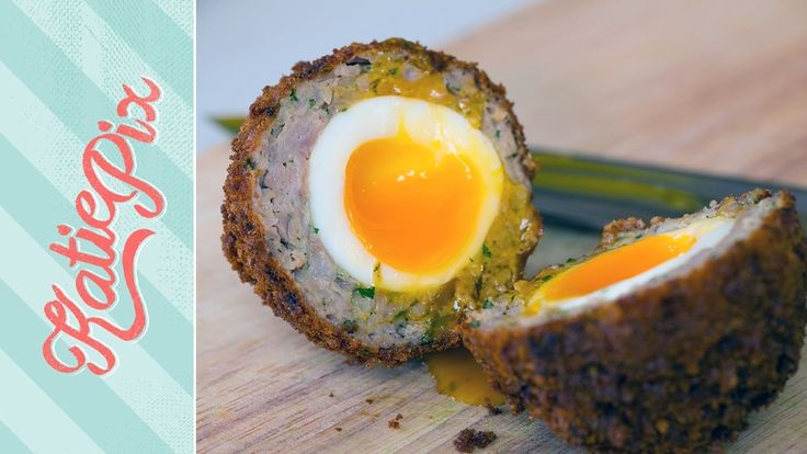 Homemade Scotch Egg Recipe   Katie Pix Homemade Scotch eggs are a world away from shop bought versions. They're worth the effort for a special picnic treat and are easier than you think! And yes... we did clap and you will too when yours appear cooked to perfection! When disposing oil - leave it to cool and either filter it with a coffee filter back into the bottle and reuse (that's the best option) or pop the cap on and dispose of the bottle in your general waste. Do not empty it down the…