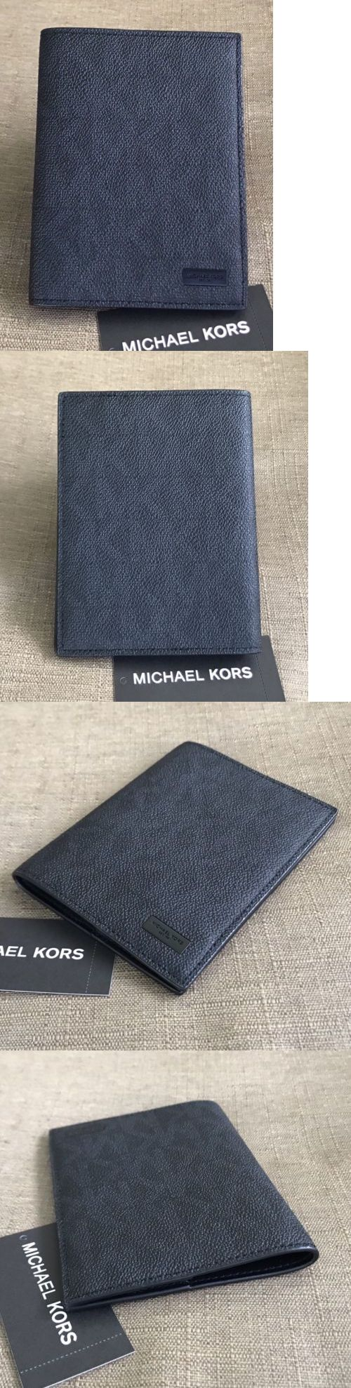 Passport and ID Holders 164795: Michael Kors Jet Set Signature Passport Cover Case(No Box) -> BUY IT NOW ONLY: $44.95 on eBay!