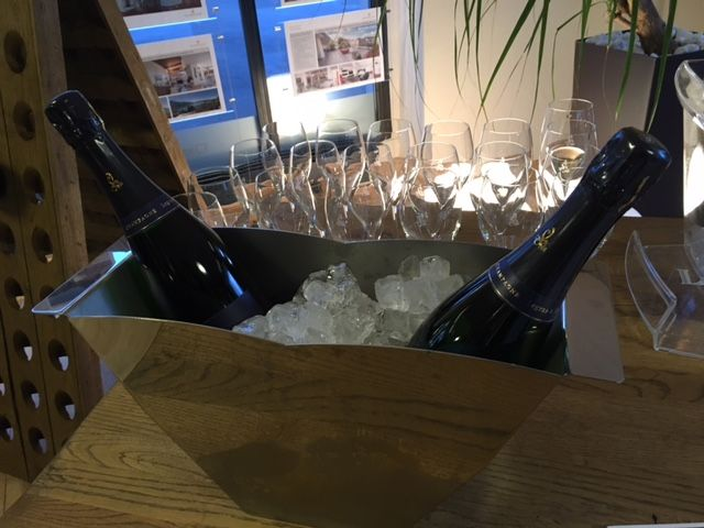 Tasting Champagne Legras & Haas Millésime 2011 at Prime Property Zug   http://the-champagne.ch/index.php/shop/product/view/22/240