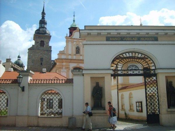 plzeň Františkánský kostel