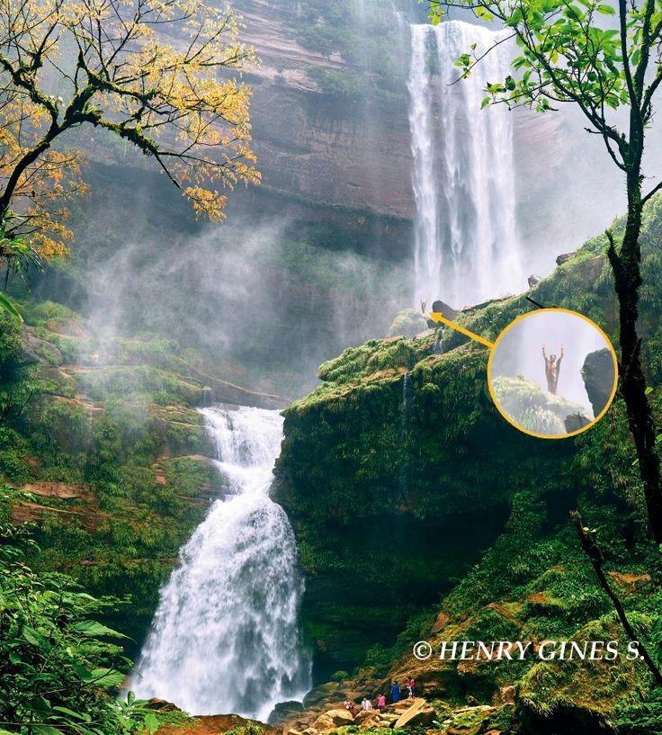 Oxapampa: Conoce la catarata que es tragada por la tierra