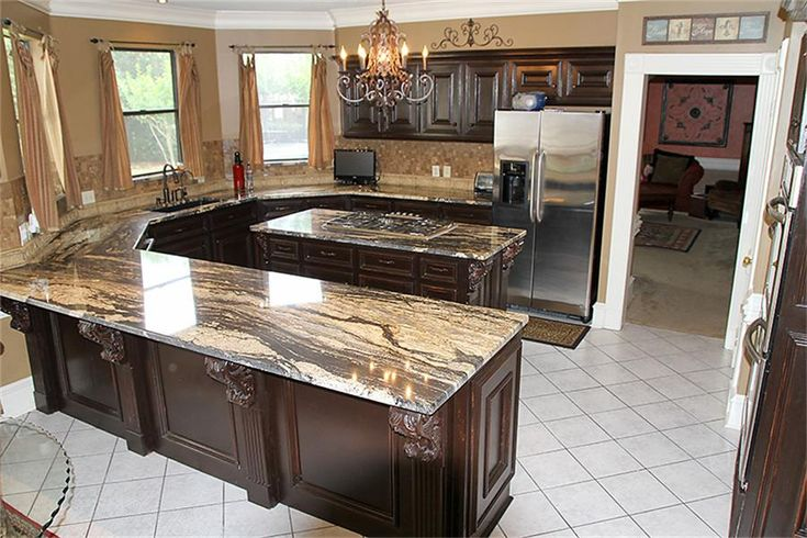 Discover New Design Ideas And Colors For Kitchen Countertops, Along With Pictures Of Granite, Laminate, photo - 4