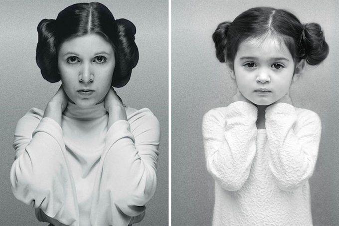 Esta menina de 3 anos adora se fantasiar de mulheres poderosas
