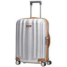 Buy Samsonite Litecube DLX 4-Wheel 55cm Cabin Suitcase Online at johnlewis.com