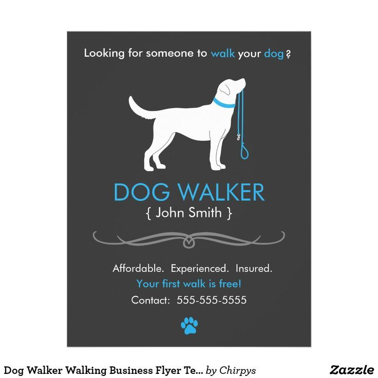 Dog Sitting Solutions For When You Re Away Dog Walking Flyer