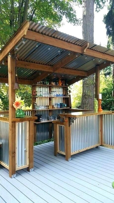 outdoor gazebo bar ideas outdoor gazebo bar innovative backyard bar rh pinterest ca