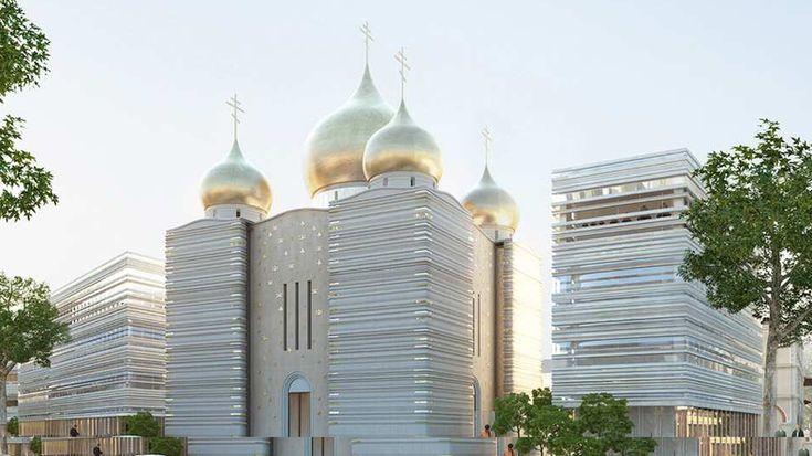 Paris inaugure la nouvelle église orthodoxe russe du quai Branly — RT en français Wilmotte