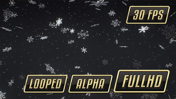 Falling Snowflakes Looped Background – 1080×1080   Falling snow with alpha channel, loopable.      You Might Also Like:                     Please comment and rate If You like my work