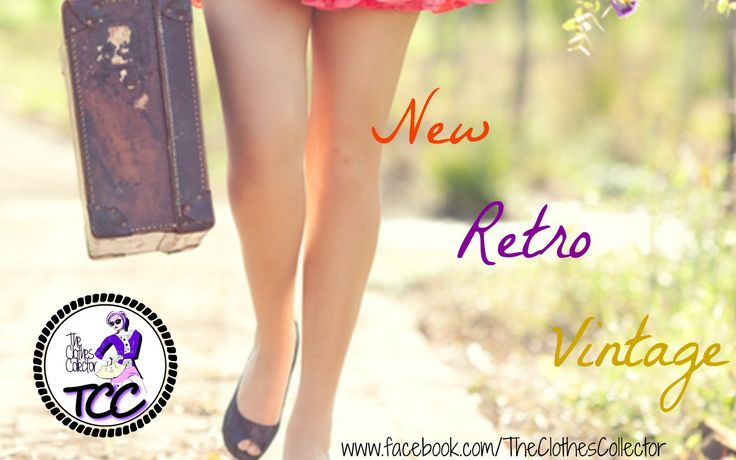 New Retro Vintage Everyday at The Clothes Collector www.facebook.com/TheClothesCollector