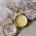 Cute henna aftercare balms. Handmade with natural ingredients to help your henna stain last longer.