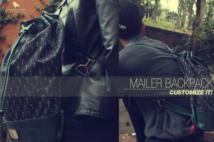Mailer backpack colección primavera-verano 2014