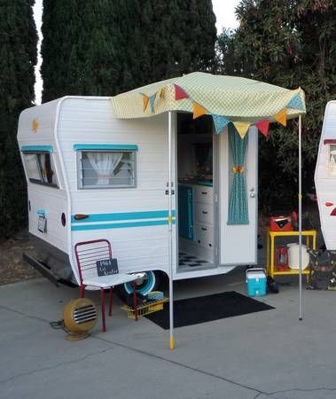 vintage 1961 lil loafer trailer only 6 12 ft long - Tiny Camping Trailers