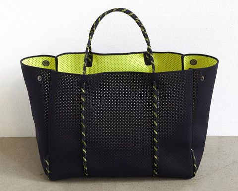 2.2 'Escape' bag - DUAL TONE black/neon yellow