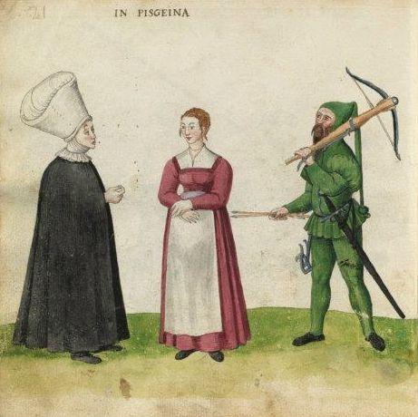 Codex Madrazo-Daza, 16th century. National Library of Spain.