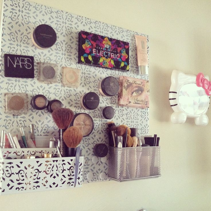 A clock (because you spend way too much time on makeup already)