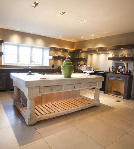 Main House kitchen at Axnoller