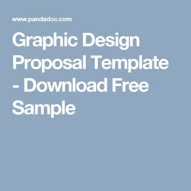 Graphic Design Proposal Template - Download Free Sample Letu0027s - sample design proposal