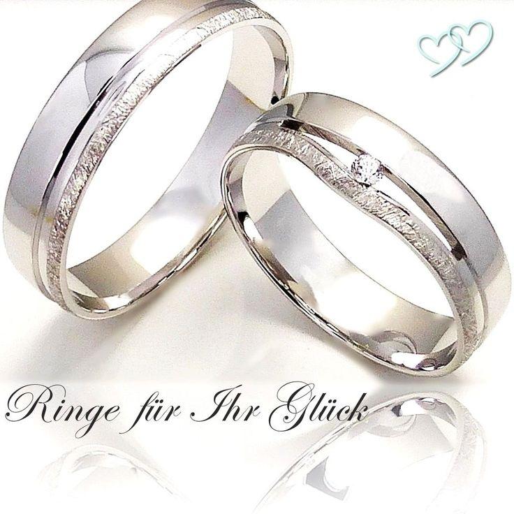 2 Silber 925 Trauringe Eheringe Verlobungsringe Partnerringe +Gravur +Etui AO-53 in Uhren & Schmuck, Hochzeitsschmuck, Trauringe | eBay!