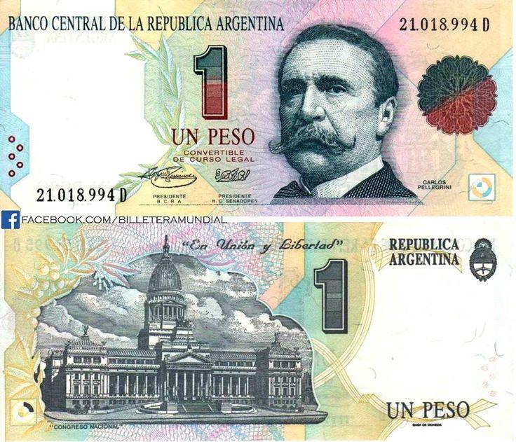 Argentina - 1 peso 1992